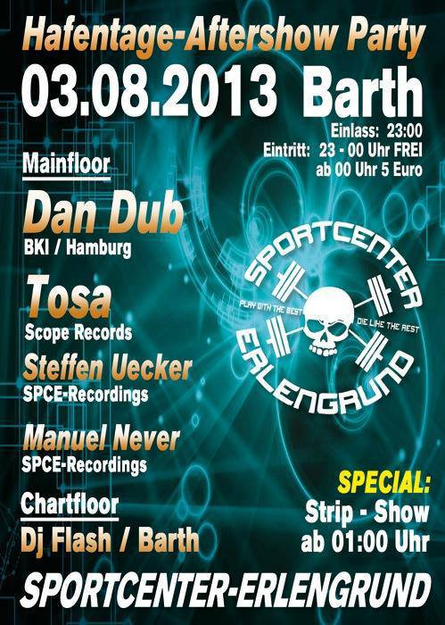 Barther Hafentage - Aftershow-Party