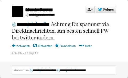 Twitter-Panne 2