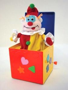 Schachtelteufel - Kasper aus der Kiste... ;-)